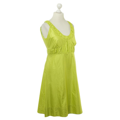 Luisa Cerano Dress in Apple green colors