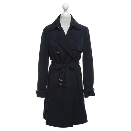 Hugo Boss Trench in blu scuro