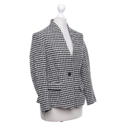 Isabel Marant Etoile Blazer with plaid pattern
