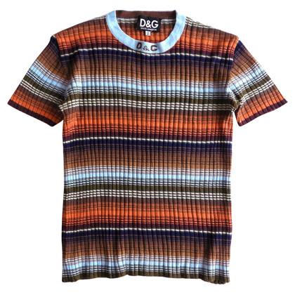 D&G Blouse en tricot léger