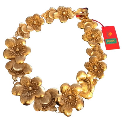 Kenzo Necklace with floral decor
