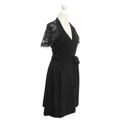 Diane von Furstenberg Wrap dress with lace