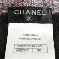 Chanel Strickjacke mit bunten Details