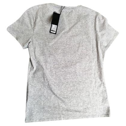 "Karl Lagerfeld T-Shirt ""Clueless Choupette "" in Grau"