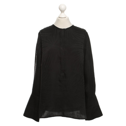 Equipment Silk blouse in black