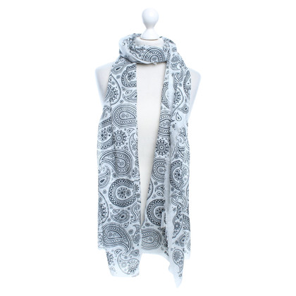 Jil Sander Scarf with pattern