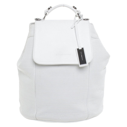 Strenesse Leather backpack in white