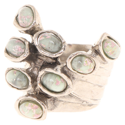 Yves Saint Laurent Silver-colored ring