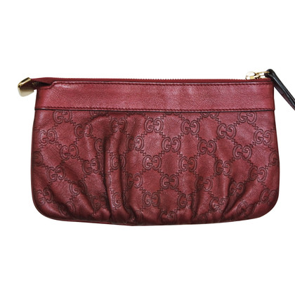 Gucci clutch met Guccissima patroon
