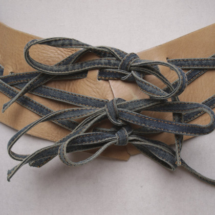 Plein Sud Heupriem met jeansbanden