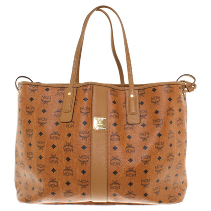 MCM Leather shopper