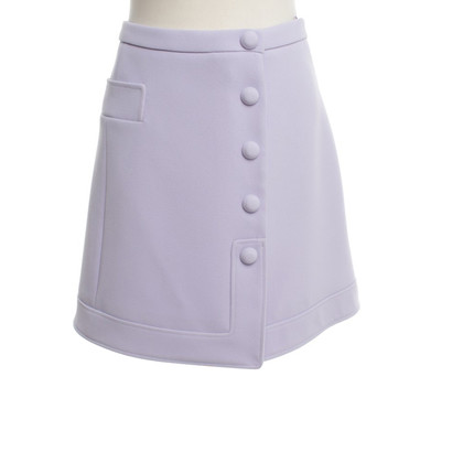 Carven Lilac color skirt