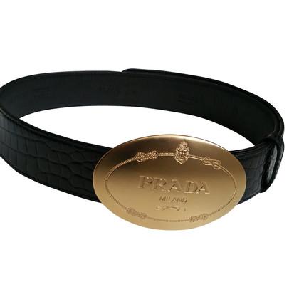 Prada Exotic leather belt