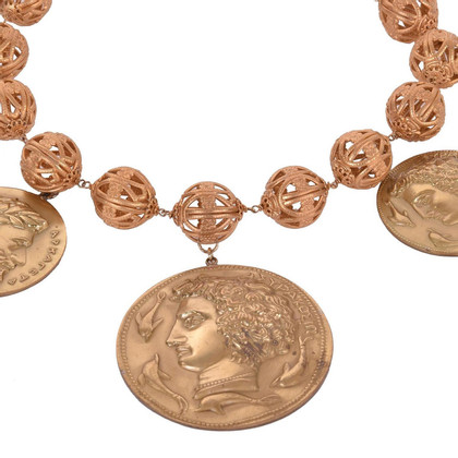 Dolce & Gabbana Necklace made of antique coins