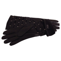 Other Designer Racer - leather gloves with studs