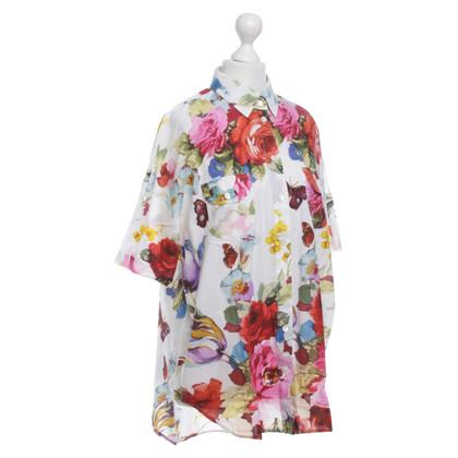 Dolce & Gabbana Blouse met bloemen