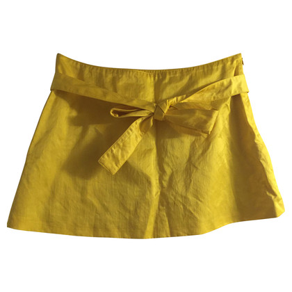 Bruuns Bazaar Yellow mini skirt