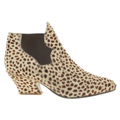 Acne The animal print boots