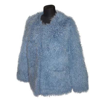 Andere merken Lambskin jas in blauw