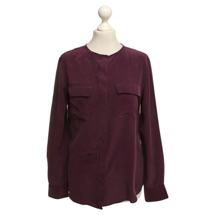 Equipment Silk blouse in Dunkellila