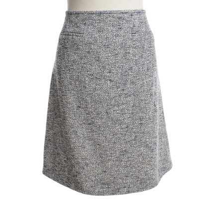 Hugo Boss Tweed-skirt in Tricolor