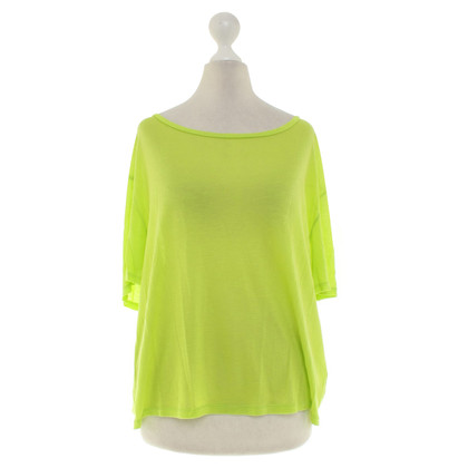 Acne top in neon green