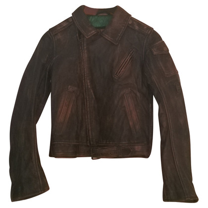 Belstaff Leather jacket in Antique Brown