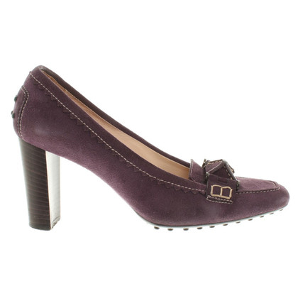 Tod's pumps in violet