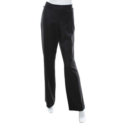 Chanel Pantaloni di lana in grigio