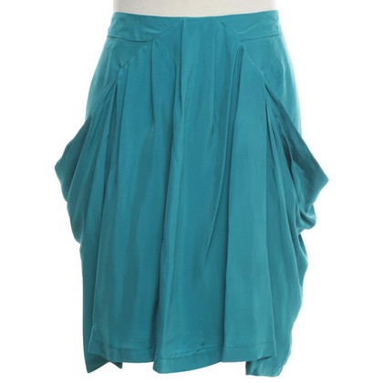 Reiss skirt in turquoise