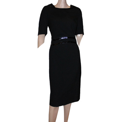 Escada Cocktail-Kleid in Schwarz