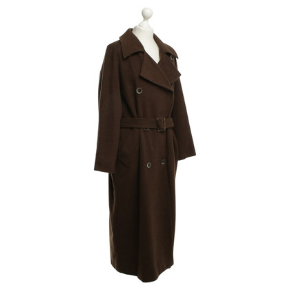 Max Mara Cappotto di cashmere in marrone