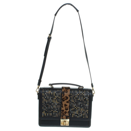 "MCM ""Little Veronika Satchel Medium"" in Schwarz"