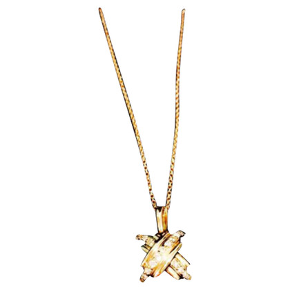 Tiffany & Co. TIFFANY & CO Collana in oro con diamante
