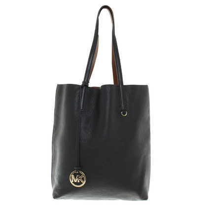 "Michael Kors ""Izzy LG NS Tote Black / Luggage"""