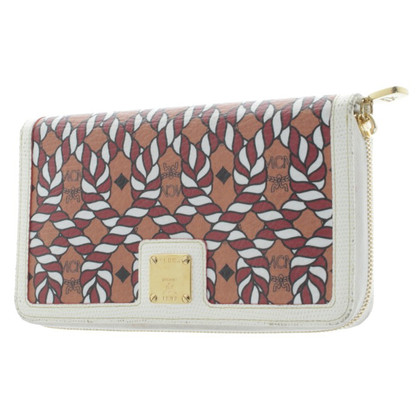 MCM Wallet with motif print