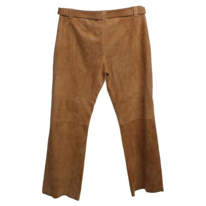 Timberland Pantalon de daim marron clair