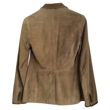 Ralph Lauren Leather Blazer