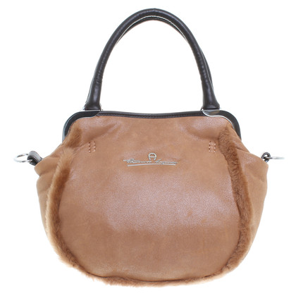 Aigner Handbag in ochre
