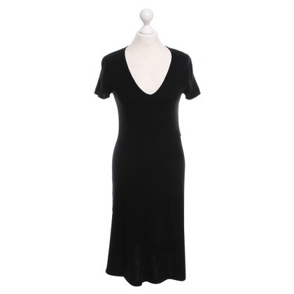 Ralph Lauren Black Label Cashmere jurk in zwart