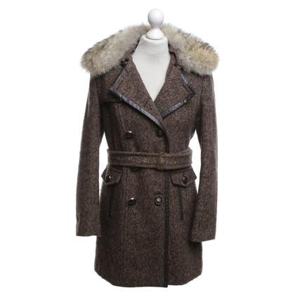 Michael Kors Manteau d'hiver avec col de fourrure