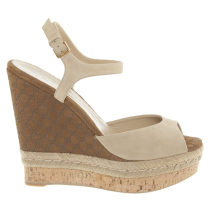 Gucci Wedges in Brown