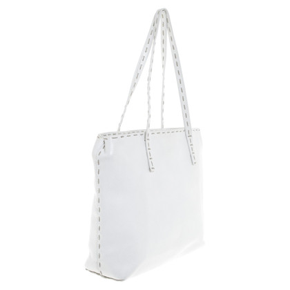 Iris von Arnim Shoulder bag in white