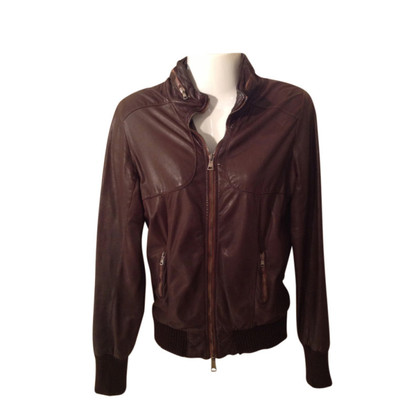 Giorgio Brato Brown leather jacket
