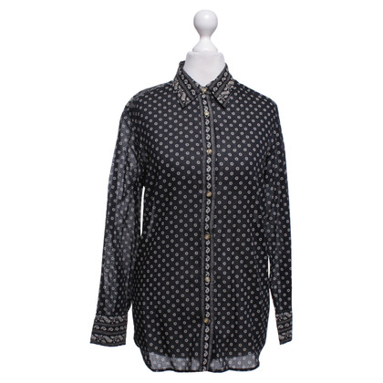 Isabel Marant Etoile Shirt blouse in black / beige
