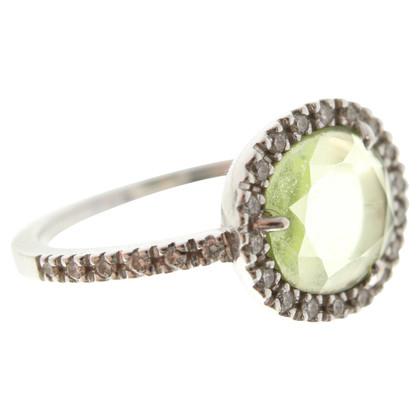 Pomellato Ring bezet met diamanten