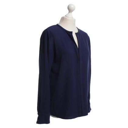 Marc Cain Elegant shirt in blauw