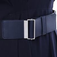 Laurèl Robe bleu foncé avec ceinture