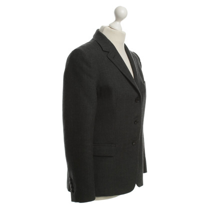 Dries van Noten Blazer in grigio scuro