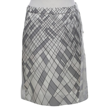 Marni skirt in cream / black